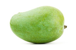 Raw mango fruit. On white background Royalty Free Stock Images
