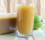 Raw Mango Juice Royalty Free Stock Image