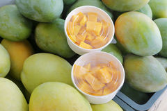 Raw mango Stock Photos