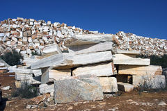 Raw marble Stock Image