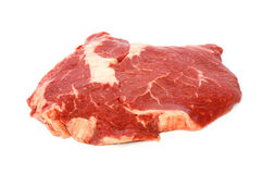 Raw matured rib eye Royalty Free Stock Image