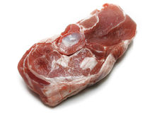 Raw meat. On a white background Stock Photography