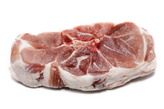 Raw meat. On a white background Stock Photo
