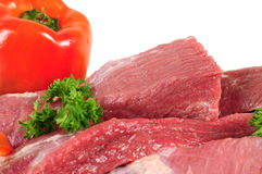 Raw meat. Stock Photography