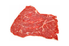 Raw meat. Fresh, raw meat texture of the red Stock Photos