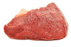 Raw meat. Fresh, raw meat texture of the red royalty free stock photography