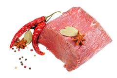 Free Raw Meat And Spice Stock Images - 24657554