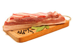 Raw meat for a barbecue Stock Image