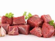 Raw meat beef Royalty Free Stock Image