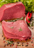 Raw meat beef Royalty Free Stock Photos