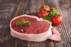 Raw meat beef Stock Photo