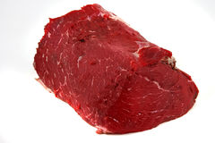 Raw meat chunk Royalty Free Stock Photos