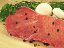 Raw meat, closeup Stock Photography