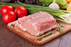 Raw meat for cooking Royalty Free Stock Photography