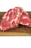 Raw meat on cutting board Royalty Free Stock Photos