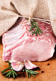 Raw meat, fresh pork Stock Images