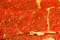 Raw meat. Fresh, raw meat texture of the red royalty free stock images