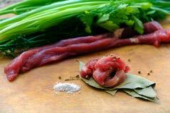 Raw meat Stock Photo