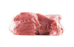 Raw meat. Image of raw red meat isolated close up Royalty Free Stock Photography