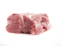 Raw meat. Image of raw red meat isolated close up Royalty Free Stock Images