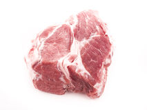 Raw meat. Image of raw red meat isolated close up Stock Photo