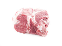 Raw meat. Image of raw red meat isolated close up Stock Images