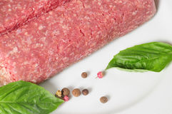 Raw meat. Isolated Stock Photos