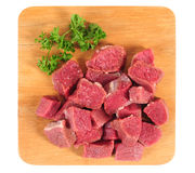 Raw meat. Isolated Royalty Free Stock Image