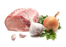 Raw meat isolated Royalty Free Stock Images