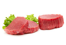 Raw meat isolated Royalty Free Stock Photography