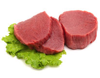 Raw meat isolated Royalty Free Stock Photos