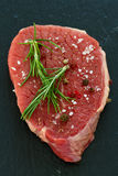 Raw meat with pepper Royalty Free Stock Photo