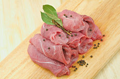 Raw meat. Royalty Free Stock Image