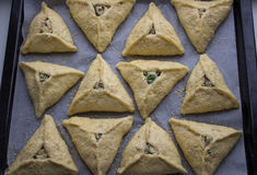 Raw  meat pies Stock Images