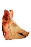Raw meat (Pig's head) Stock Photography