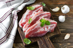 Raw meat Royalty Free Stock Images