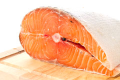 Raw meat, red fish Royalty Free Stock Images