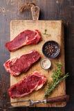Raw meat Ribeye steak entrecote Stock Photography