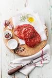 Raw meat Ribeye Steak Stock Photos