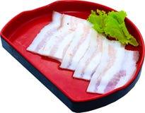 Raw Meat Slice Royalty Free Stock Photos