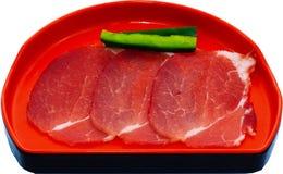 Raw Meat Slice Stock Photos