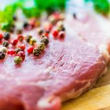 Raw meat for steak Royalty Free Stock Images