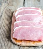 Raw meat steaks Stock Photography