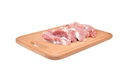 Raw meat steaks Royalty Free Stock Photo