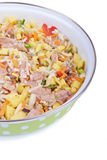 Raw meat with vegetables Royalty Free Stock Image