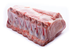 Raw meat  on white background Stock Image