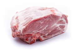 Raw meat  on white background Stock Photo