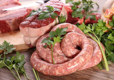 Raw meats Royalty Free Stock Images