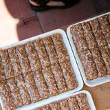Raw mici Stock Photography
