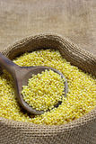 Raw millet Stock Photos